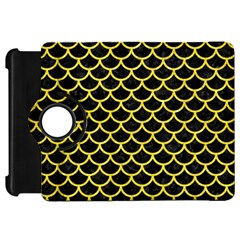 Scales1 Black Marble & Gold Glitter Kindle Fire Hd 7