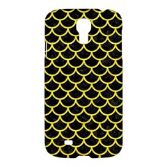 Scales1 Black Marble & Gold Glitter Samsung Galaxy S4 I9500/i9505 Hardshell Case