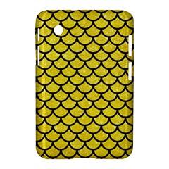 Scales1 Black Marble & Gold Glitter (r) Samsung Galaxy Tab 2 (7 ) P3100 Hardshell Case