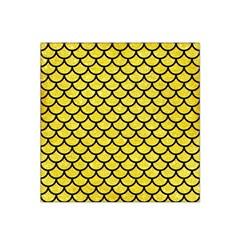 Scales1 Black Marble & Gold Glitter (r) Satin Bandana Scarf