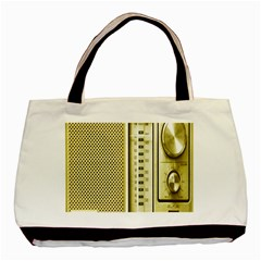 I Love My Radio! Basic Tote Bag (two Sides)