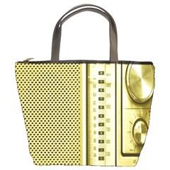 I Love My Radio! Bucket Bags