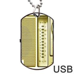 I Love My Radio! Dog Tag Usb Flash (two Sides)
