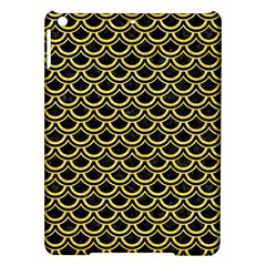 Scales2 Black Marble & Gold Glitterscales2 Black Marble & Gold Glitter Ipad Air Hardshell Cases