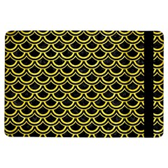 Scales2 Black Marble & Gold Glitterscales2 Black Marble & Gold Glitter Ipad Air Flip