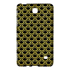 Scales2 Black Marble & Gold Glitterscales2 Black Marble & Gold Glitter Samsung Galaxy Tab 4 (7 ) Hardshell Case