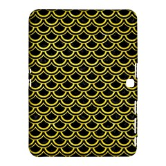 Scales2 Black Marble & Gold Glitterscales2 Black Marble & Gold Glitter Samsung Galaxy Tab 4 (10 1 ) Hardshell Case