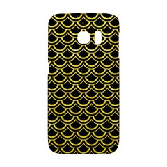 Scales2 Black Marble & Gold Glitterscales2 Black Marble & Gold Glitter Galaxy S6 Edge