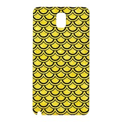 Scales2 Black Marble & Gold Glitter (r) Samsung Galaxy Note 3 N9005 Hardshell Back Case
