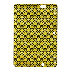 Scales2 Black Marble & Gold Glitter (r) Kindle Fire Hdx 8 9  Hardshell Case