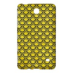 Scales2 Black Marble & Gold Glitter (r) Samsung Galaxy Tab 4 (8 ) Hardshell Case