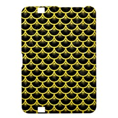 Scales3 Black Marble & Gold Glitter Kindle Fire Hd 8 9