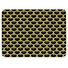 Scales3 Black Marble & Gold Glitter Samsung Galaxy Tab 7  P1000 Flip Case
