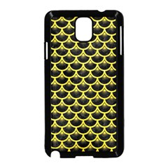 Scales3 Black Marble & Gold Glitter Samsung Galaxy Note 3 Neo Hardshell Case (black)