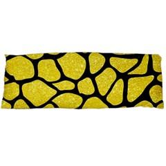 Skin1 Black Marble & Gold Glitter Body Pillow Case (dakimakura)