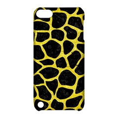 Skin1 Black Marble & Gold Glitter (r) Apple Ipod Touch 5 Hardshell Case With Stand