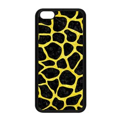 Skin1 Black Marble & Gold Glitter (r) Apple Iphone 5c Seamless Case (black)