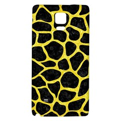 Skin1 Black Marble & Gold Glitter (r) Galaxy Note 4 Back Case