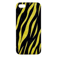 Skin3 Black Marble & Gold Glitter Iphone 5s/ Se Premium Hardshell Case