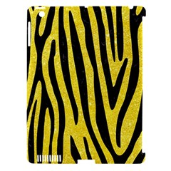 Skin4 Black Marble & Gold Glitter Apple Ipad 3/4 Hardshell Case (compatible With Smart Cover)