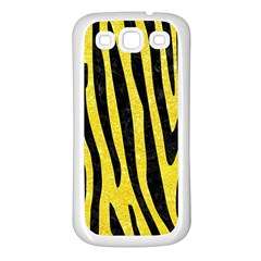 Skin4 Black Marble & Gold Glitter Samsung Galaxy S3 Back Case (white)