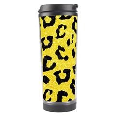 Skin5 Black Marble & Gold Glitter Travel Tumbler