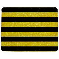 Stripes2 Black Marble & Gold Glitter Jigsaw Puzzle Photo Stand (rectangular)