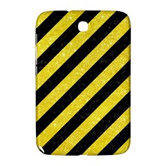 Stripes3 Black Marble & Gold Glitter Samsung Galaxy Note 8 0 N5100 Hardshell Case