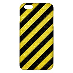 Stripes3 Black Marble & Gold Glitter Iphone 6 Plus/6s Plus Tpu Case