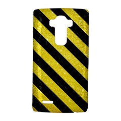 Stripes3 Black Marble & Gold Glitter (r) Lg G4 Hardshell Case
