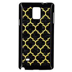 Tile1 Black Marble & Gold Glitter Samsung Galaxy Note 4 Case (black)