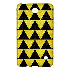 Triangle2 Black Marble & Gold Glitter Samsung Galaxy Tab 4 (7 ) Hardshell Case