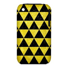 Triangle3 Black Marble & Gold Glitter Iphone 3s/3gs