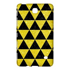 Triangle3 Black Marble & Gold Glitter Samsung Galaxy Tab 4 (8 ) Hardshell Case