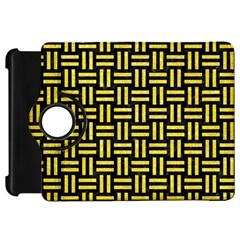Woven1 Black Marble & Gold Glitter Kindle Fire Hd 7