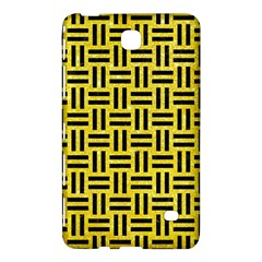 Woven1 Black Marble & Gold Glitter (r) Samsung Galaxy Tab 4 (8 ) Hardshell Case