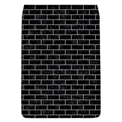 Brick1 Black Marble & Gray Colored Pencil Flap Covers (s)
