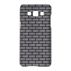 Brick1 Black Marble & Gray Colored Pencil (r) Samsung Galaxy A5 Hardshell Case