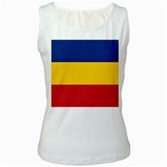 Gozarto Flag Women s White Tank Top