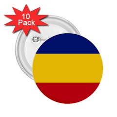 Gozarto Flag 2 25  Buttons (10 Pack)