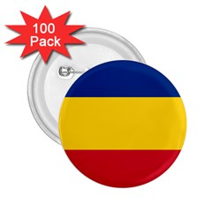 Gozarto Flag 2 25  Buttons (100 Pack)