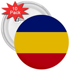 Gozarto Flag 3  Buttons (10 Pack)