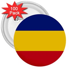 Gozarto Flag 3  Buttons (100 Pack)