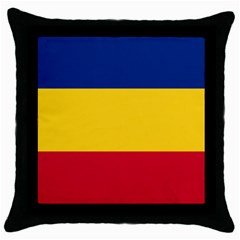 Gozarto Flag Throw Pillow Case (black)