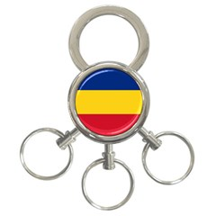Gozarto Flag 3 Ring Key Chains