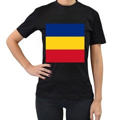 Gozarto Flag Women s T Shirt (black) (two Sided)