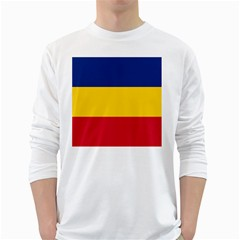 Gozarto Flag White Long Sleeve T Shirts