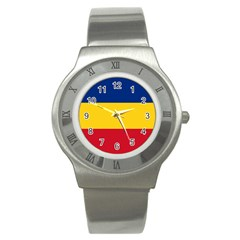 Gozarto Flag Stainless Steel Watch