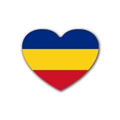 Gozarto Flag Rubber Coaster (heart)