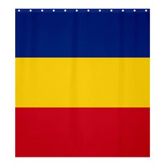 Gozarto Flag Shower Curtain 66  X 72  (large)